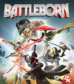 Battleborn video game box