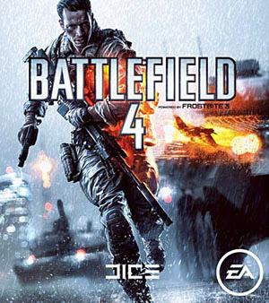 Battlefield 4 video game box