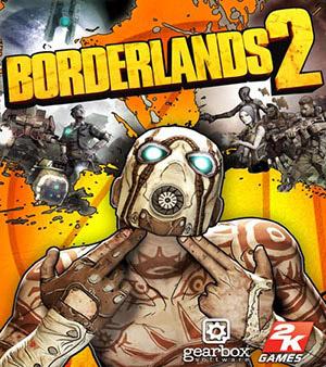 Borderlands 2 video game box