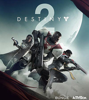 Destiny 2 video game box