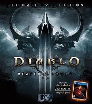 Diablo 3 Reaper of Souls video game box