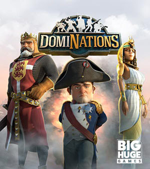 Dominations video game box