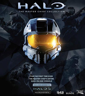 Halo Master Chieft Collection video game box