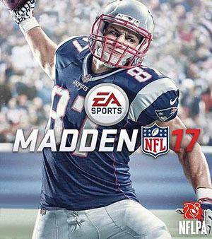 Madden 17 video game box