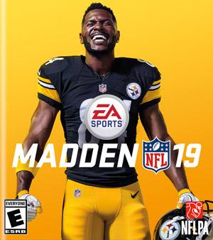Madden 19 video game box