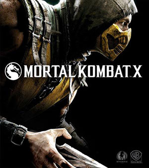 Mortal Kombat X video game box