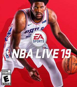 NBA Live 19 video game box