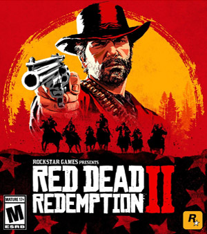 Red Dead 2 video game box