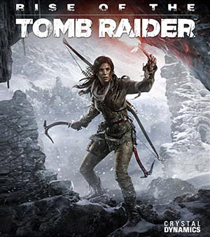 Rise of the Tomb Raider video game box