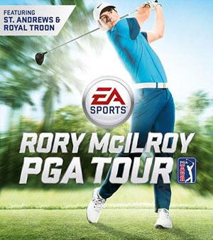 Roy McIlroy PGA Tour video game box