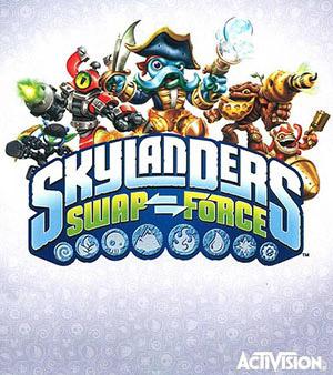 Skylanders Swap Force video game box