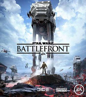 StarWars Battlefront video game box