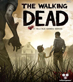 The Walking Dead video game box