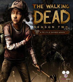 The Walking Dead Season Two video game box