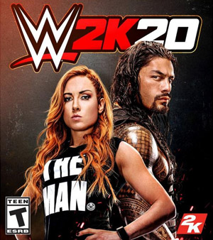 WWE 2k 20 video game box
