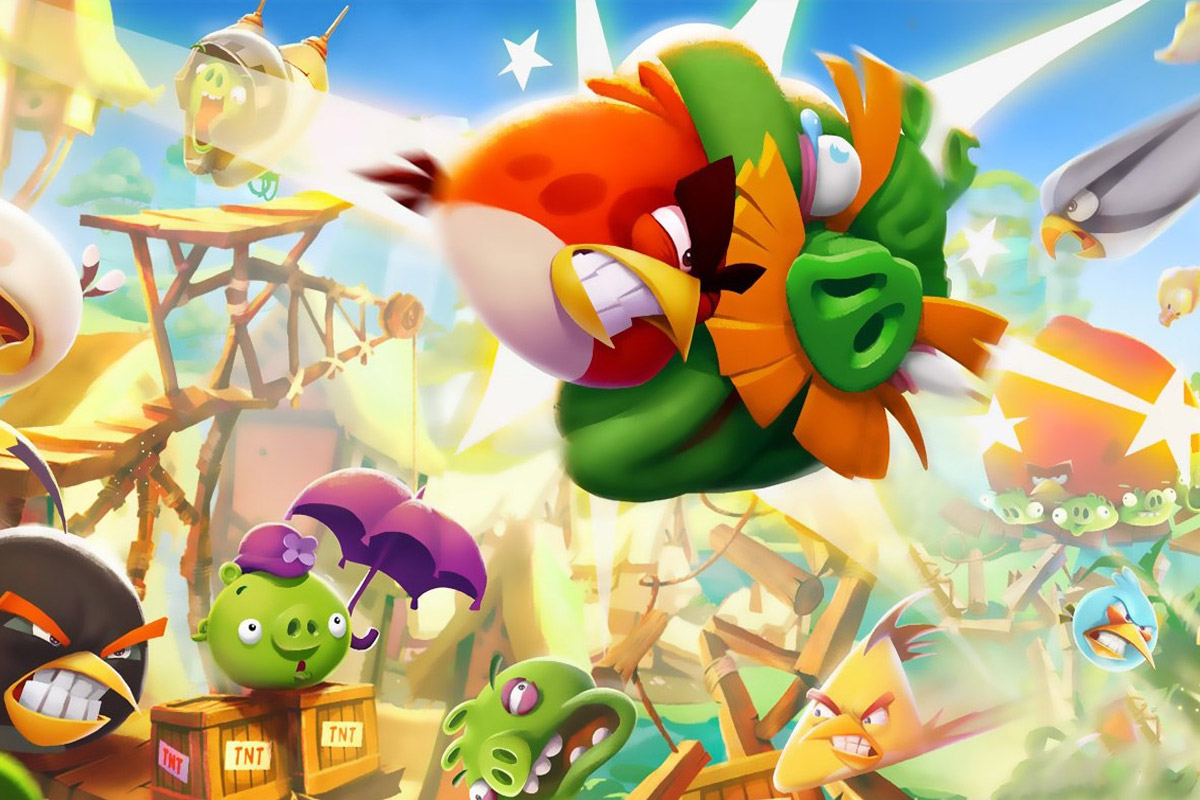Artwork from Angry Birds video game