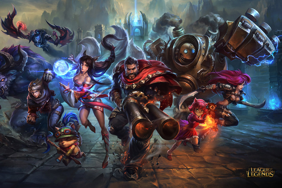 Artwork from League of Legends video game