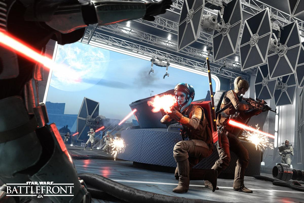 Artwork from EA's Star Wars Battlefront
