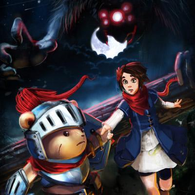 Artwork from capstone game Plushy Knight